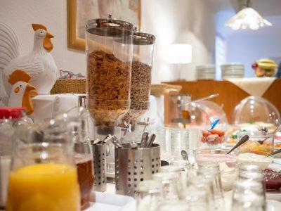 Frühstücksbuffet Hotel zur Therme Erwitte Bad Westernkotten