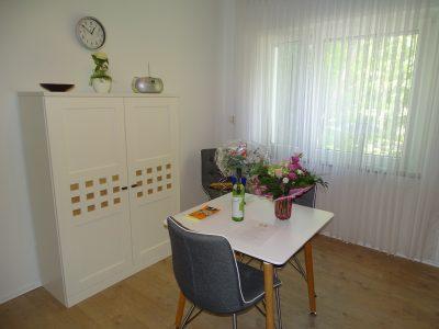Küche und Esszimmer Ferienwohnung zur Therme in Erwitte Bad Westernkotten